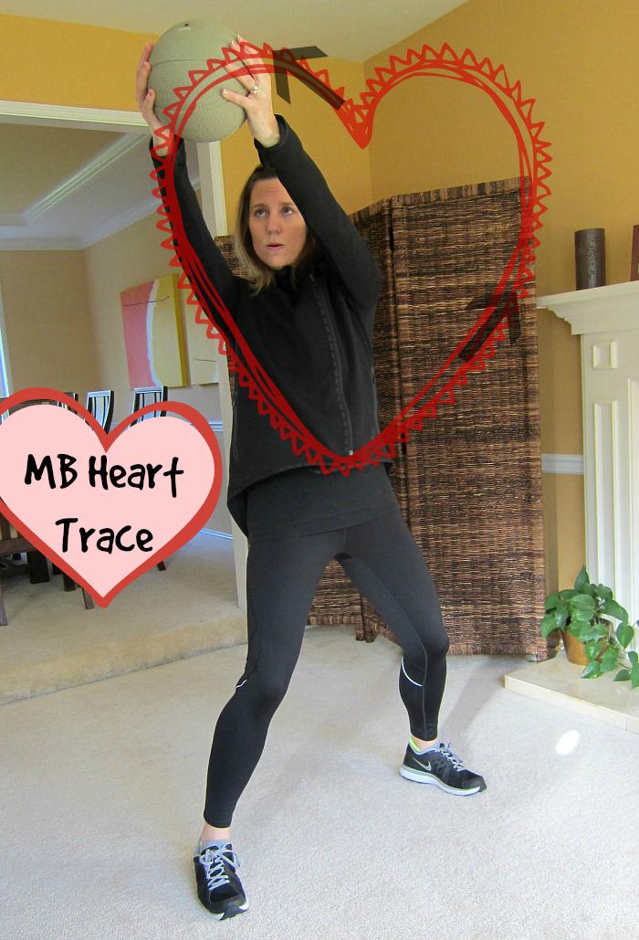 Medicine Ball Heart Trace