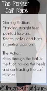 The perfect calf raise
